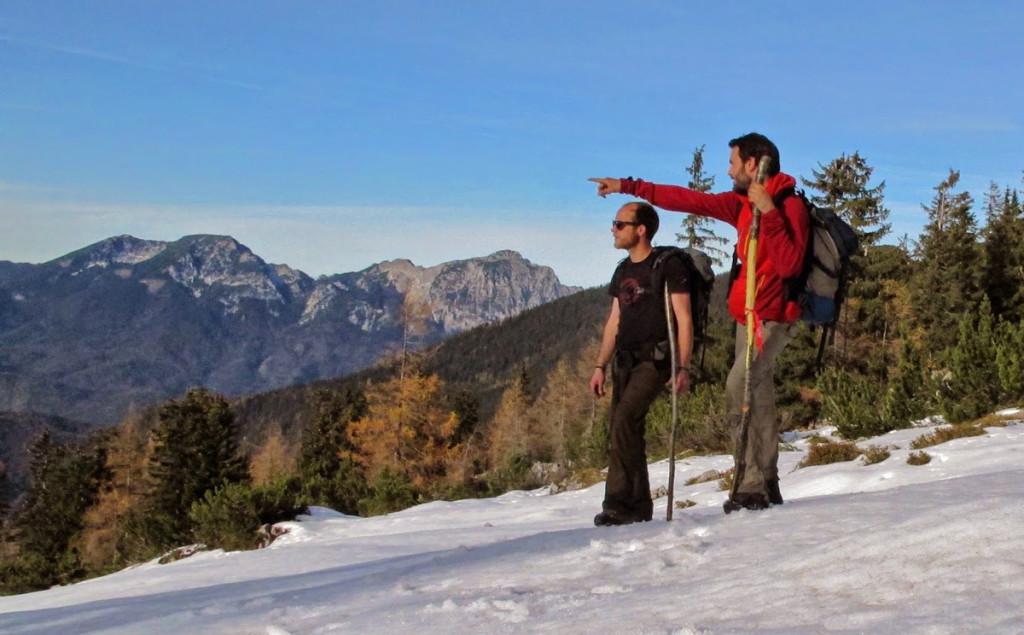 Winter wird`s im Lattengebirge