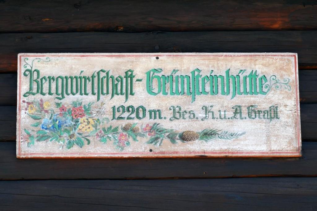 Die Grünsteinhütte öffnet am 1. Mai