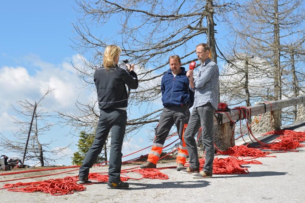 Hans Kogler im Interview mit Bild