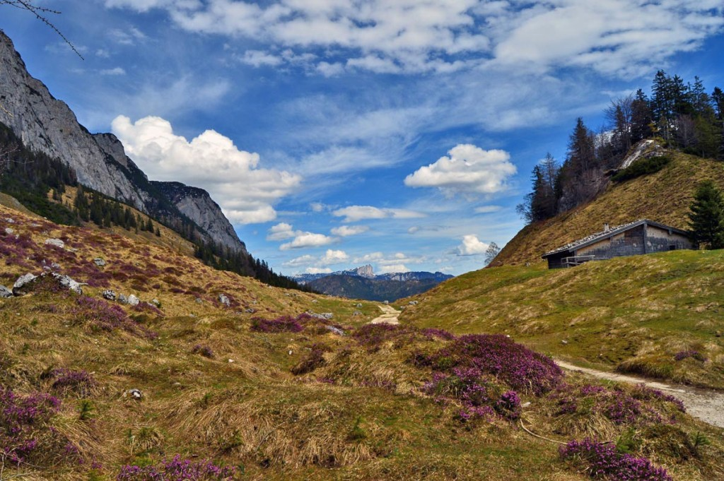 Blick von der Halsalm zum Untersberg