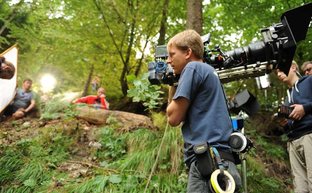 Dreharbeiten zu Mara und der Feuerbringer © Constantin Film/Rat Pack Filmproduktion