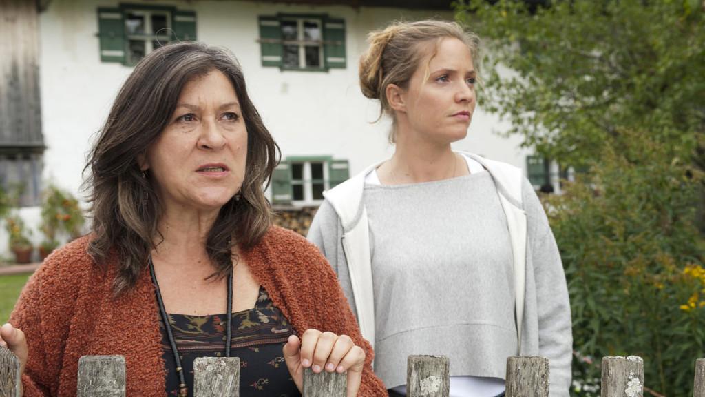 Eva Mattes und Patricia Aulitzky © ZDF   Thomas K. Schumann