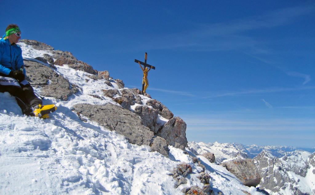 Gipfelkreuz Watzmann Hocheck