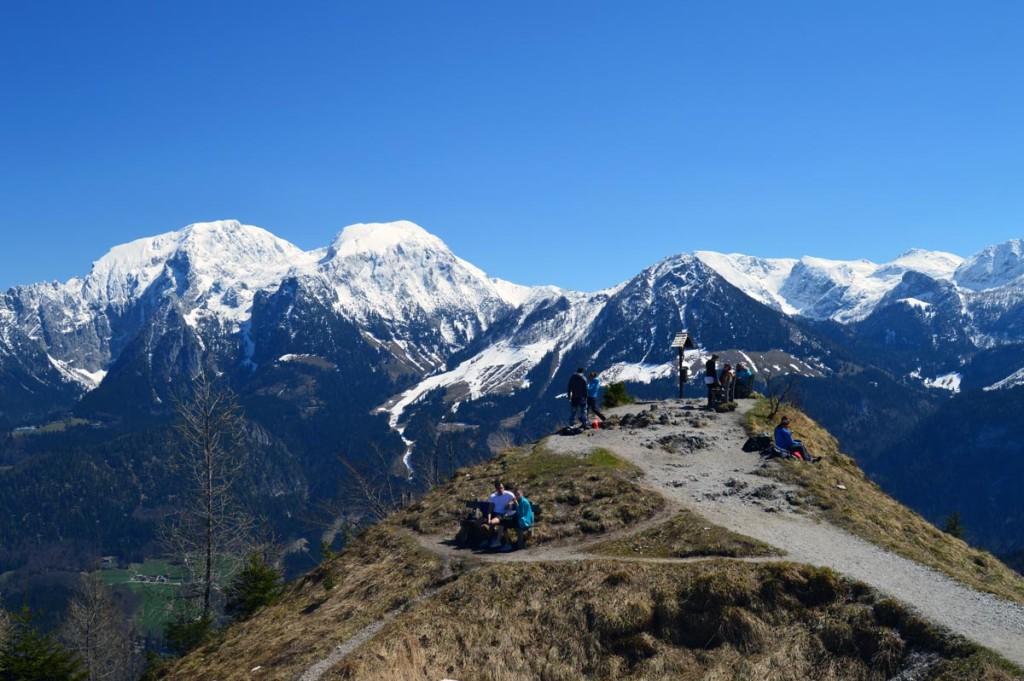 Viel los auf dem Grünstein GipfelViel los auf dem Grünstein Gipfel