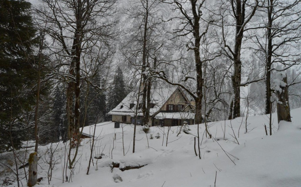 Wimbachschloss Winter