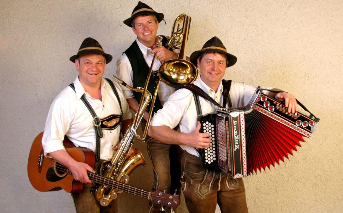 Das Oxn-Aug'n Trio: Michael Rasp, Hubert Ilsanker, Helmut