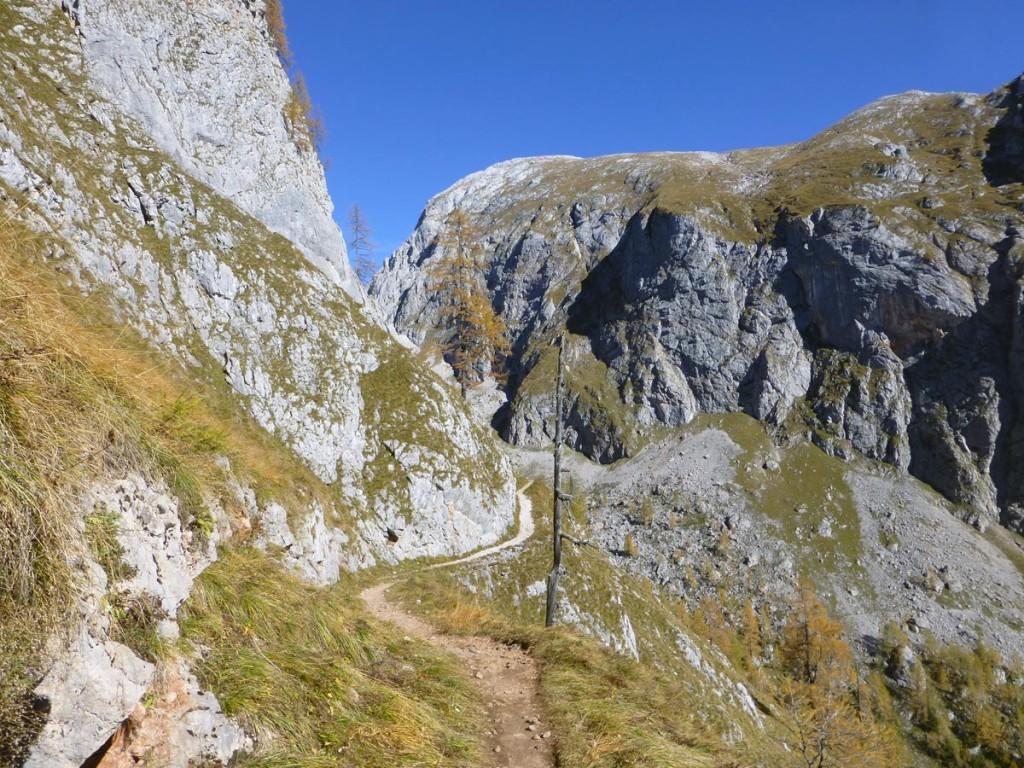 Unterwegs in den Berchtesgadener Alpen © Eder Birgit