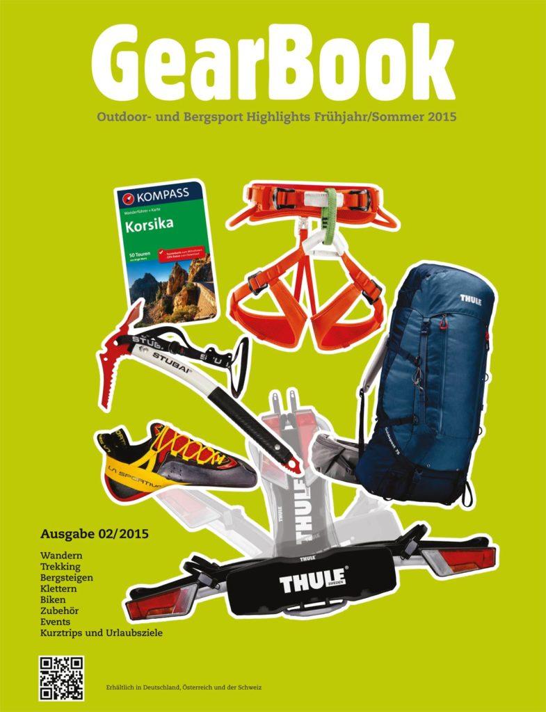 GearBook Ausgabe Frühjahr/Sommer 2015