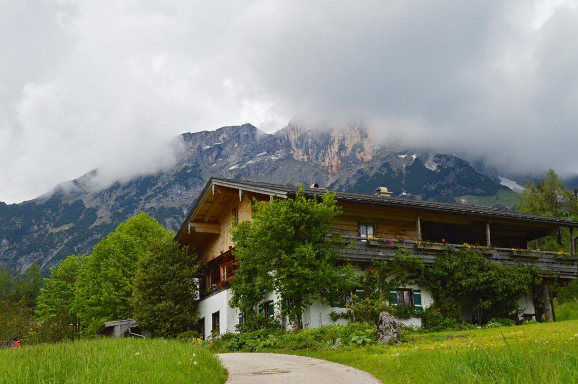Der Untersberg von Maria Gern aus gesehen