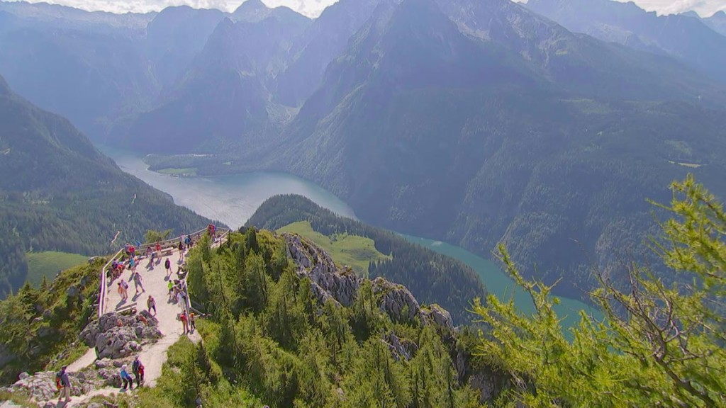 Blick vom Jennergipfel zum Königssee © Service Reisen HR