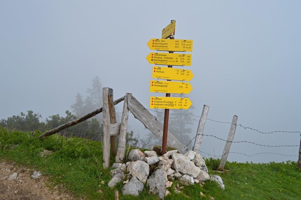 Am Gatterl: Knotenpunkt auf dem Untersberg