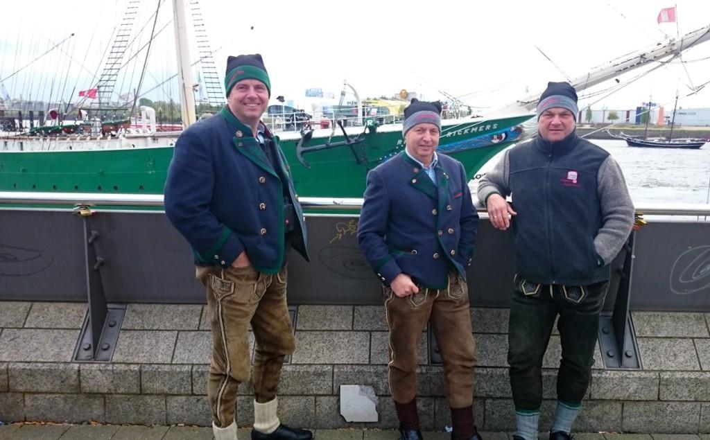 Die Oxn Aug'n im Hamburger Hafen