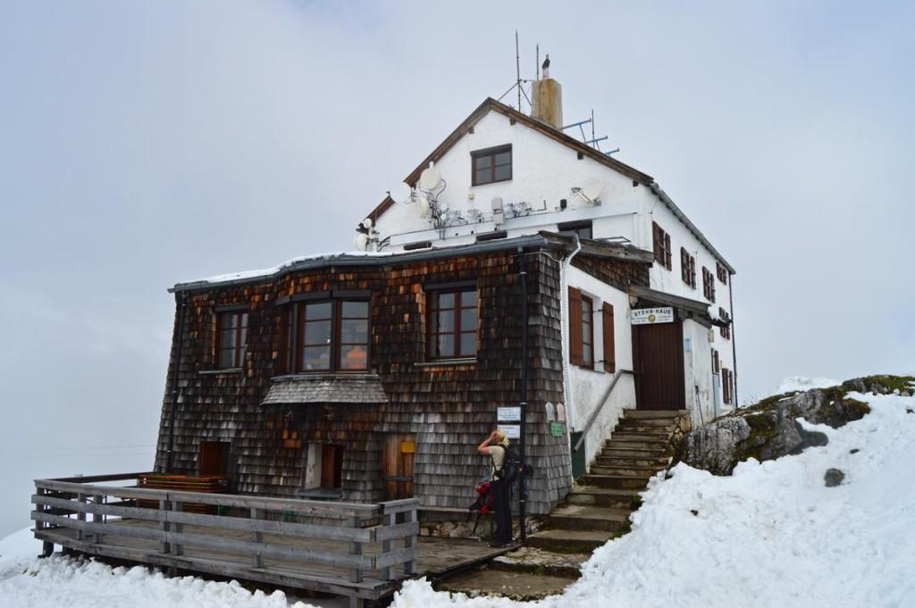 Das Stöhrhaus  Alpenvereinshütte auf dem Untersberg
