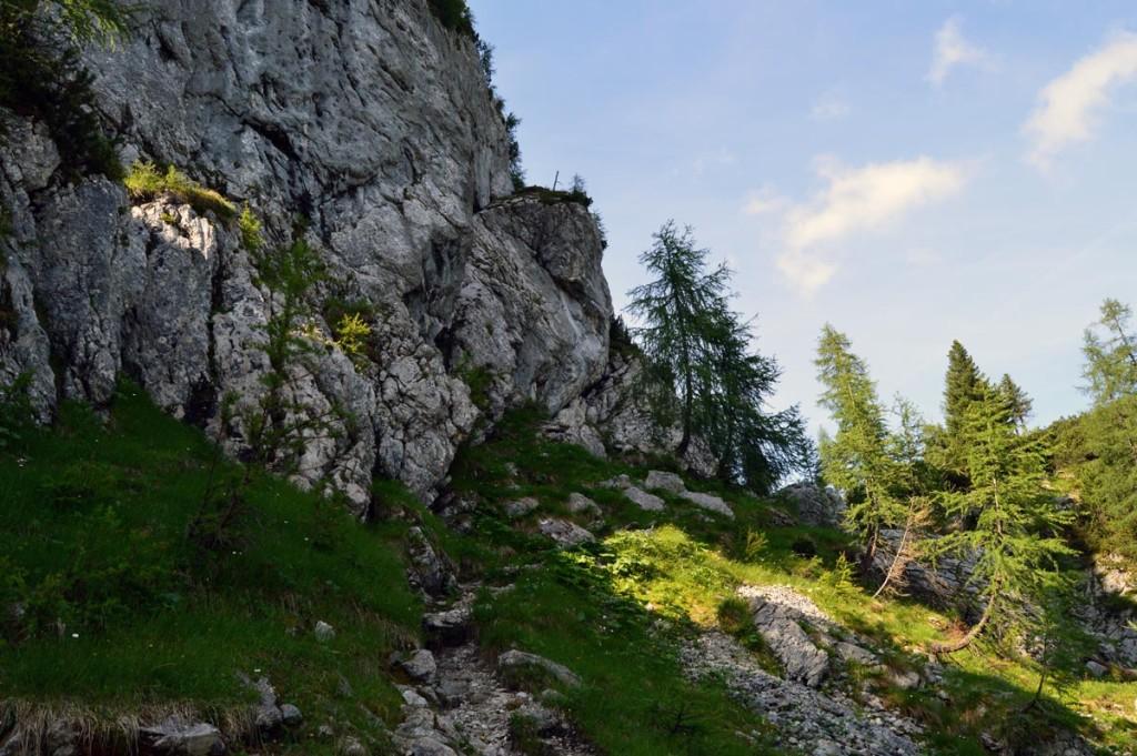 landschaftlich wunderschöner Aufstieg zum Kammerlinghorn