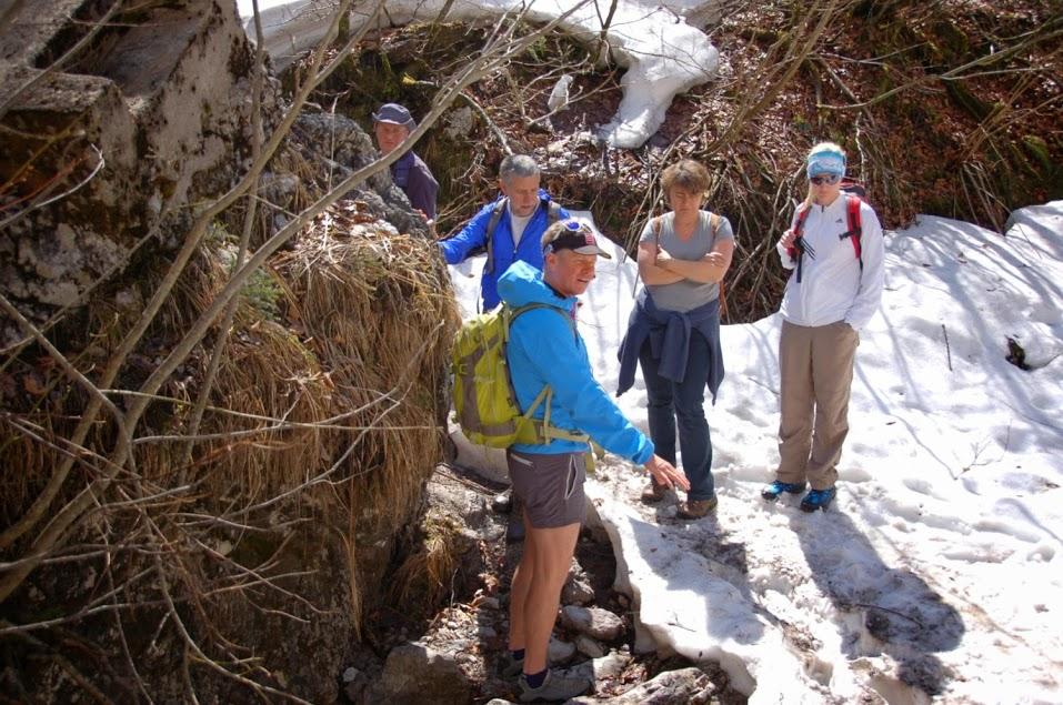 Unterwegs mit Bergführer Eddy Balduin