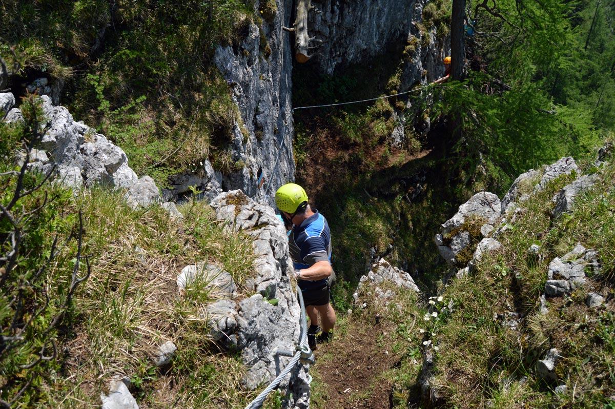 Klettersteig Jenner : Neuer klettersteig am jenner schützensteig