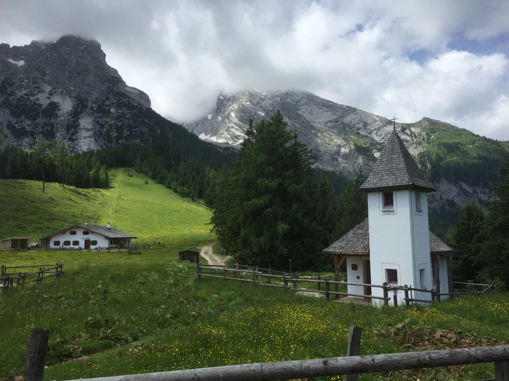 Kapelle Kühroint und Watzmann