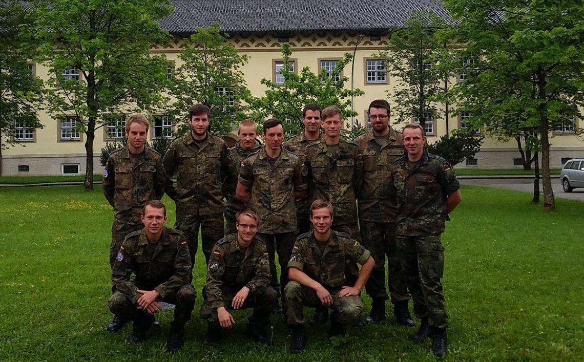 Die Teams der Gebirgsjäger Brigade 23