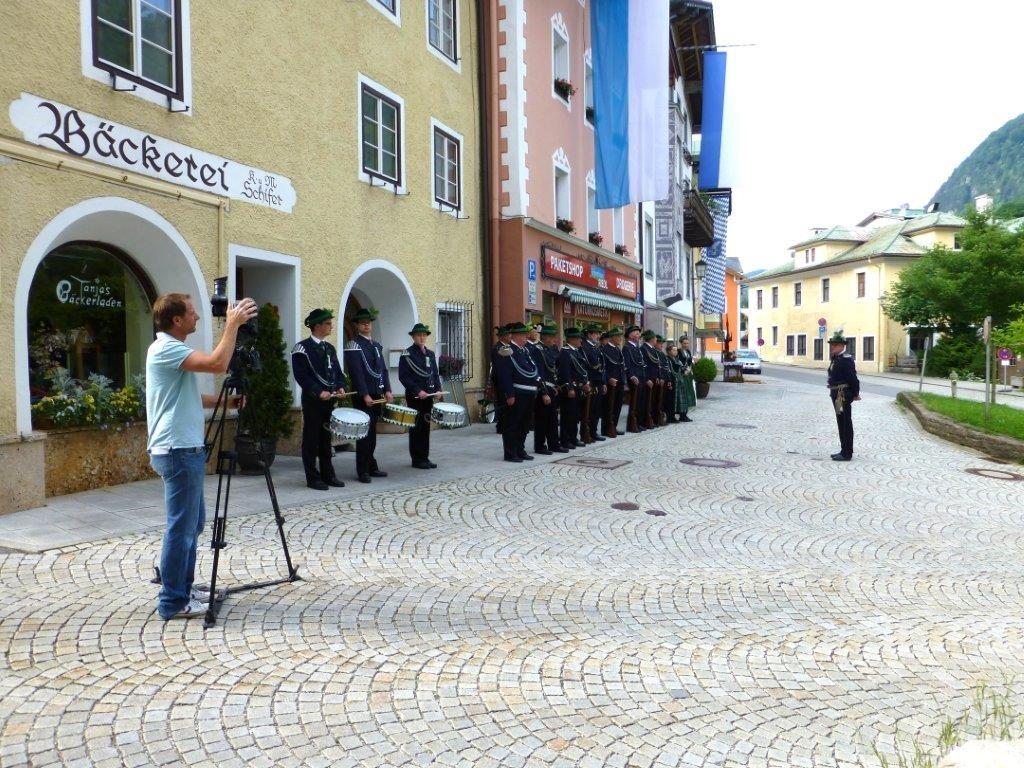 BR filmt Prangertag in Marktschellenberg © Franz Heger, MSchbg
