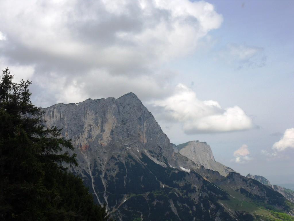 Ausblick zum Untersberg