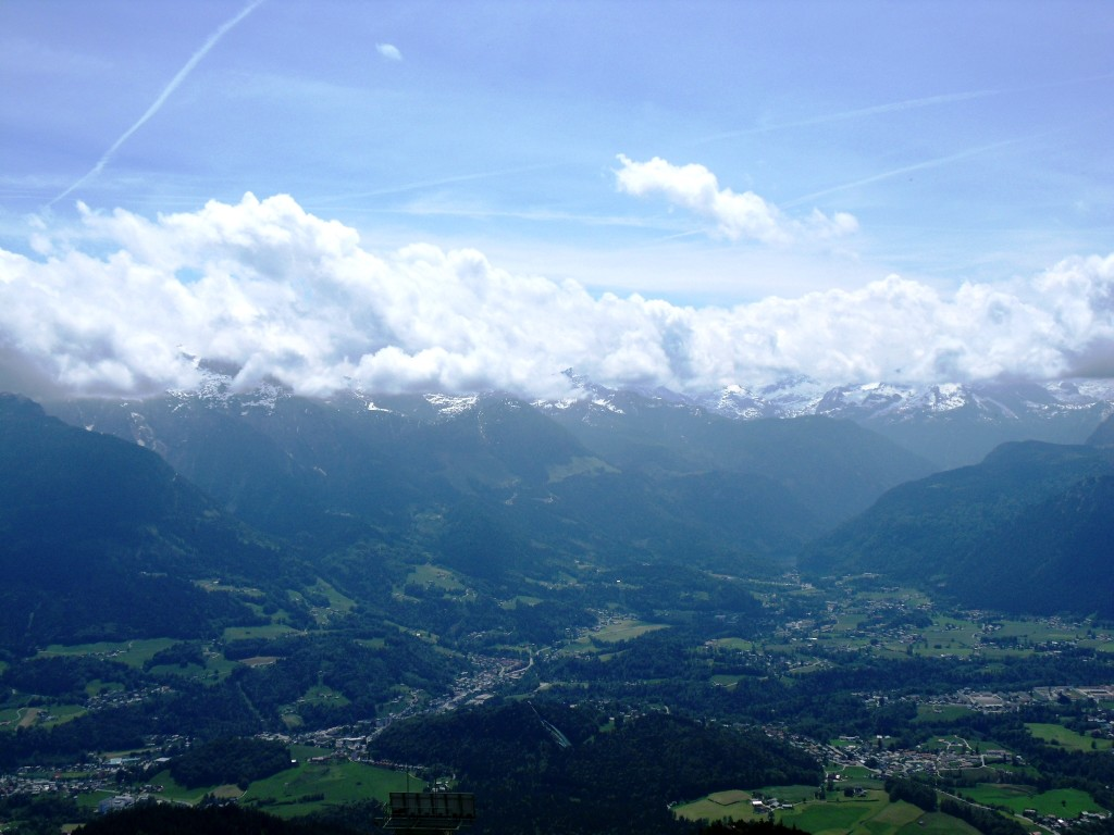 Blick auf den Berchtesgadener Talkessel