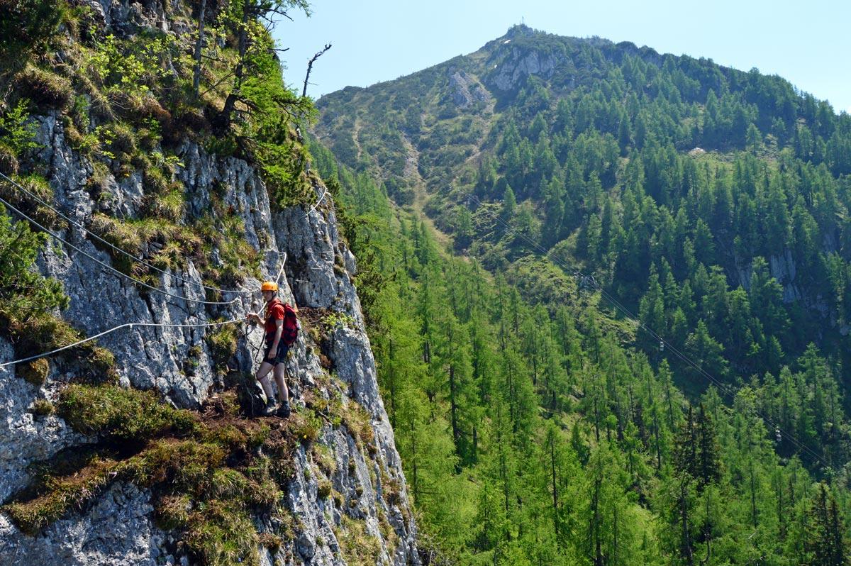 Klettersteig Königssee : Grünstein isidorsteig klettersteig berchtesgadener alpen