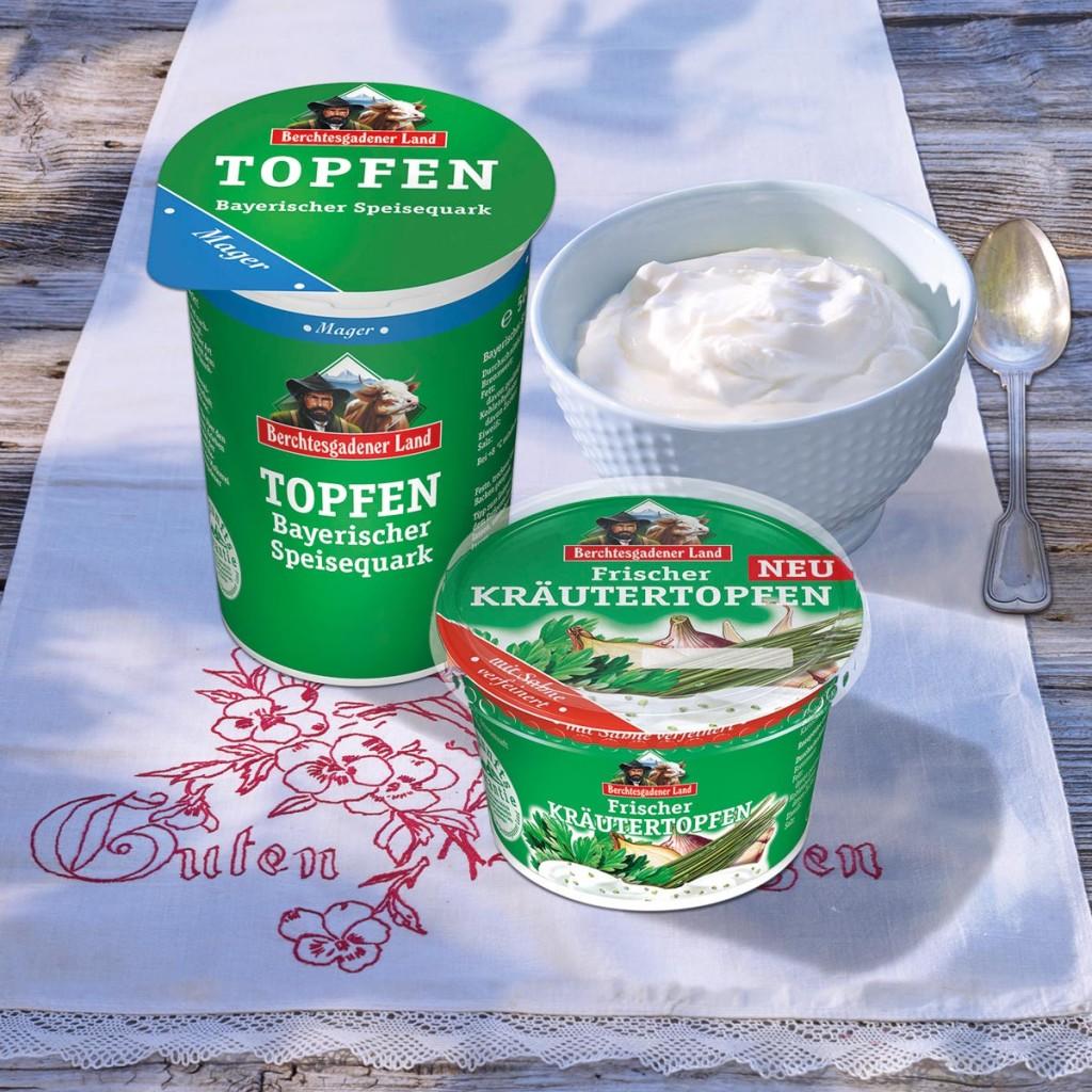 Topfen: Speisequark aus Bergbauernmilch