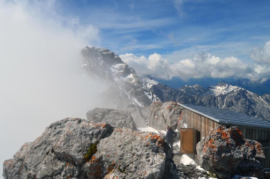 Blick zur Watzmann Mittelspitze