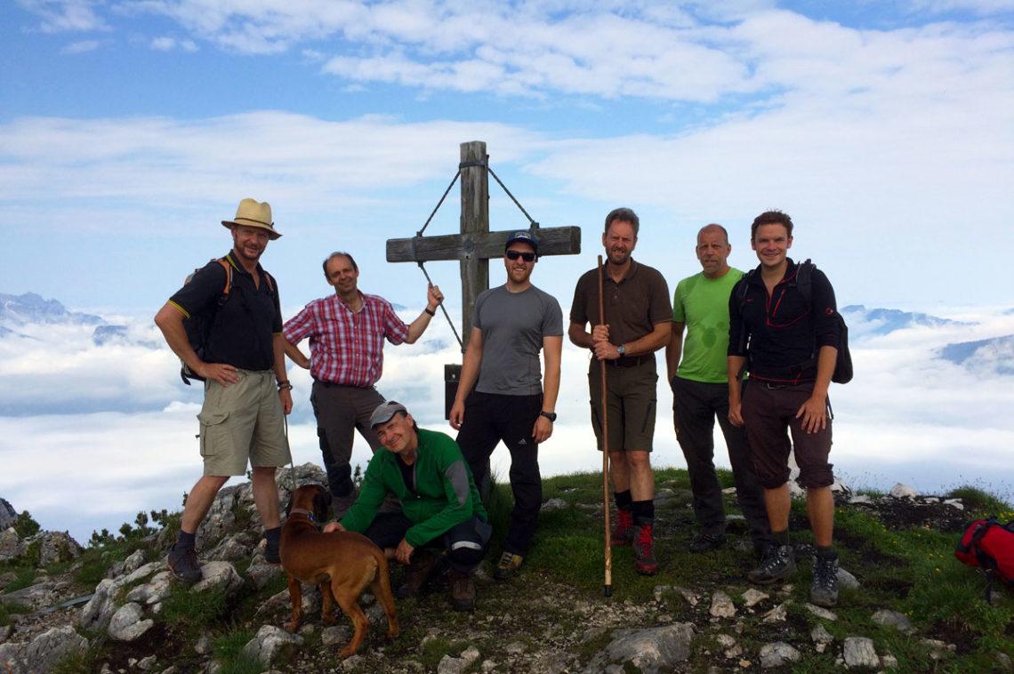 Wandern abseits der Trampelpfade: Auf dem Großen Weitschartenkopf