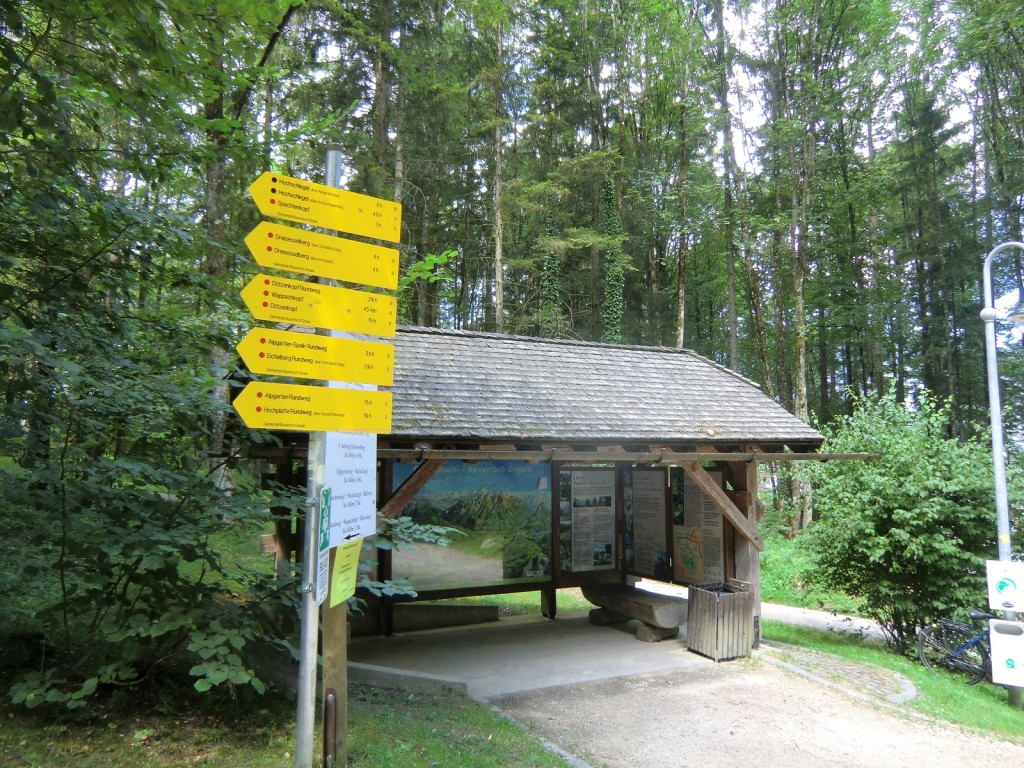 Wanderzentrum Bayrisch Gmain