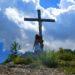 Selbstauslöser am Gipfelkreuz