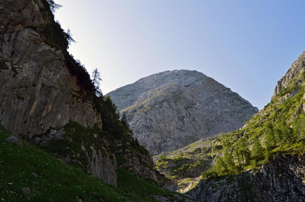 Der Kahlersberg (2.350m) im Hagengebirge