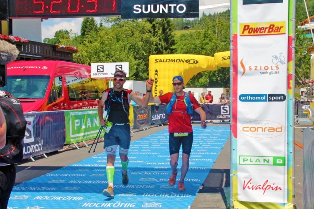 Der Oberstabsgefreite Florian Rohde (im roten T-Shirt) schaffte es in der Männer-Gesamtwertung auf Platz 18. Angetreten waren 342 Läufer.