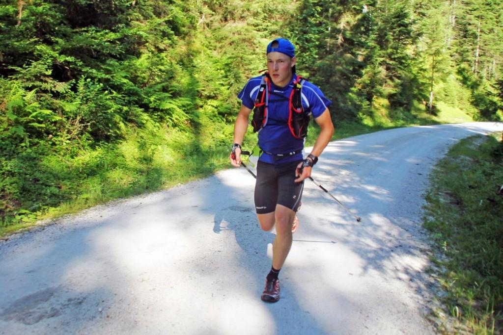 Der Unteroffizier Ferdinand Würz gehört auch zu den sehr schnellen Läufern, er will bald in die Laufbahn der Feldwebel wechseln