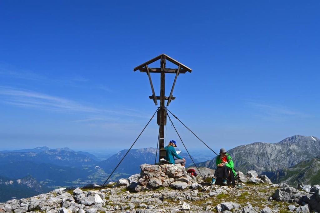 Das Gipfelkreuz des Kahlersberg