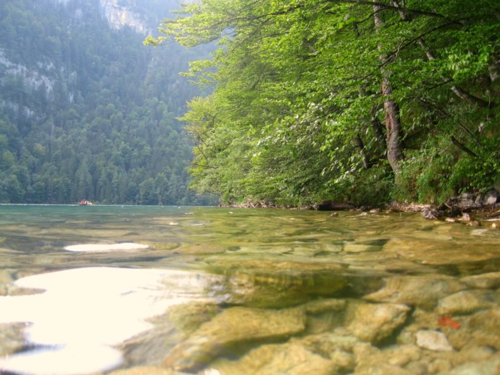 Baden im Königssee