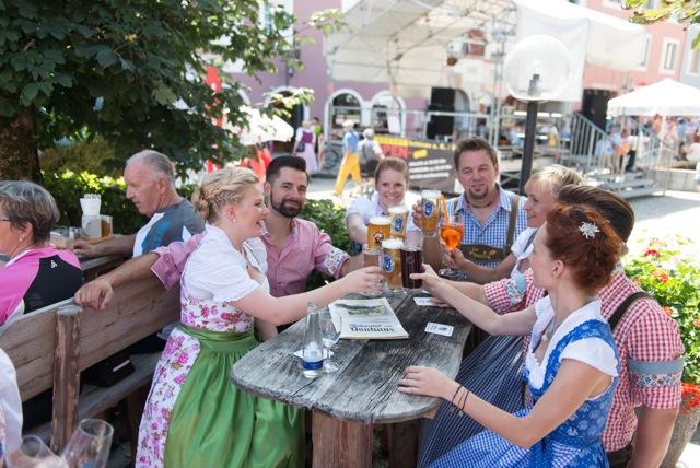 Marktfest Berchtesgaden -Gasthaus  Neuhaus