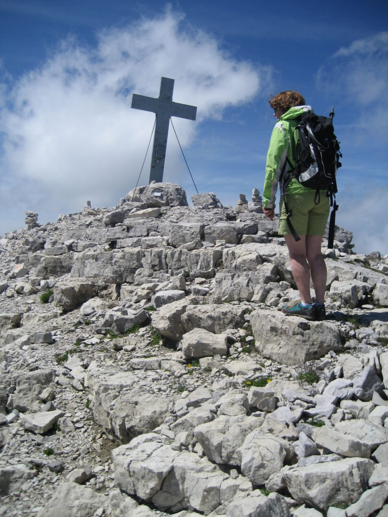 Gipfelkreuz Mitterhorn