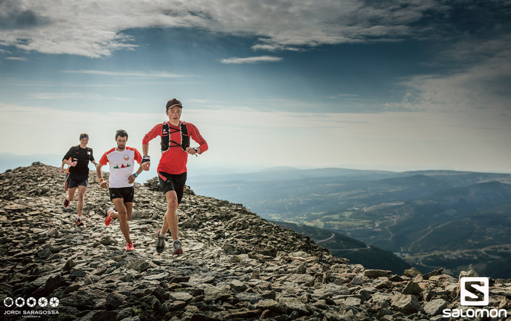 Philipp Reiter, der Streckendesigner der Salomon 4 Trails 2015 © Jordi Saragossa