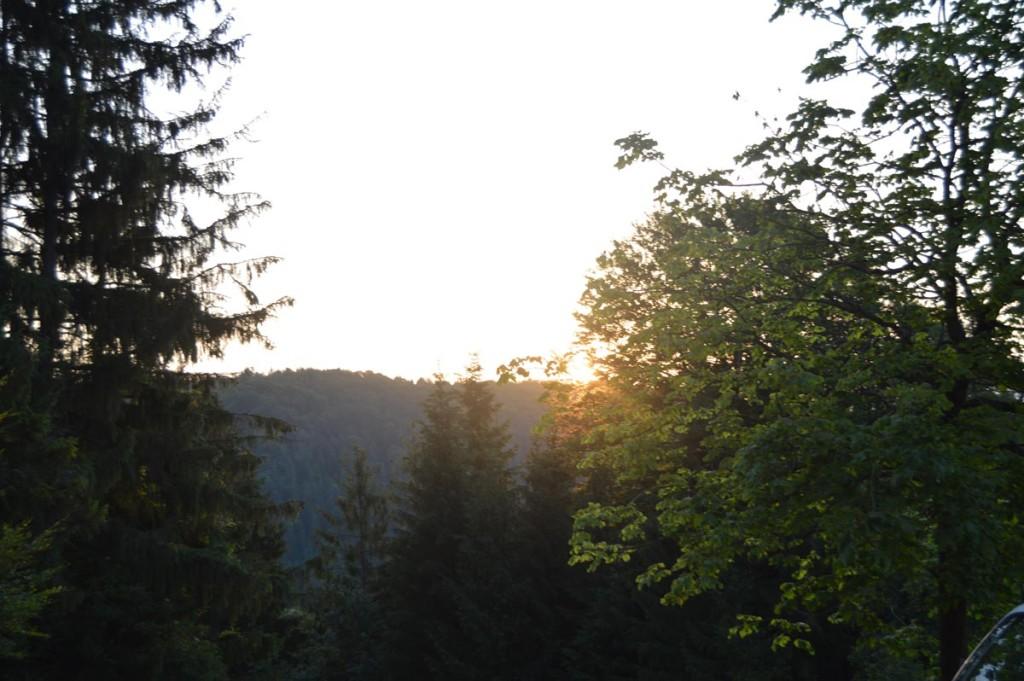 Sonnenaufgang auf dem Weg zum Söldenköpl