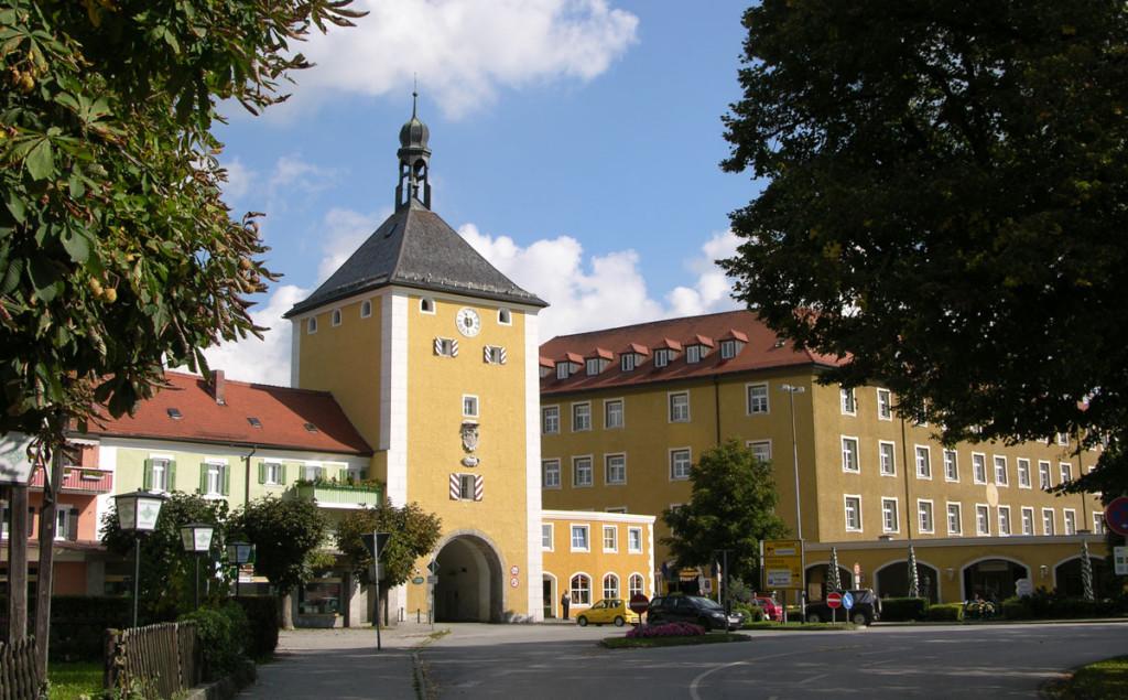 Das Stadtor zur Altstadt Laufen