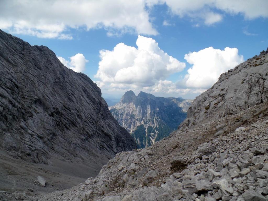 Blick hinüber aufs Mühlsturzhorn (Reiteralm)