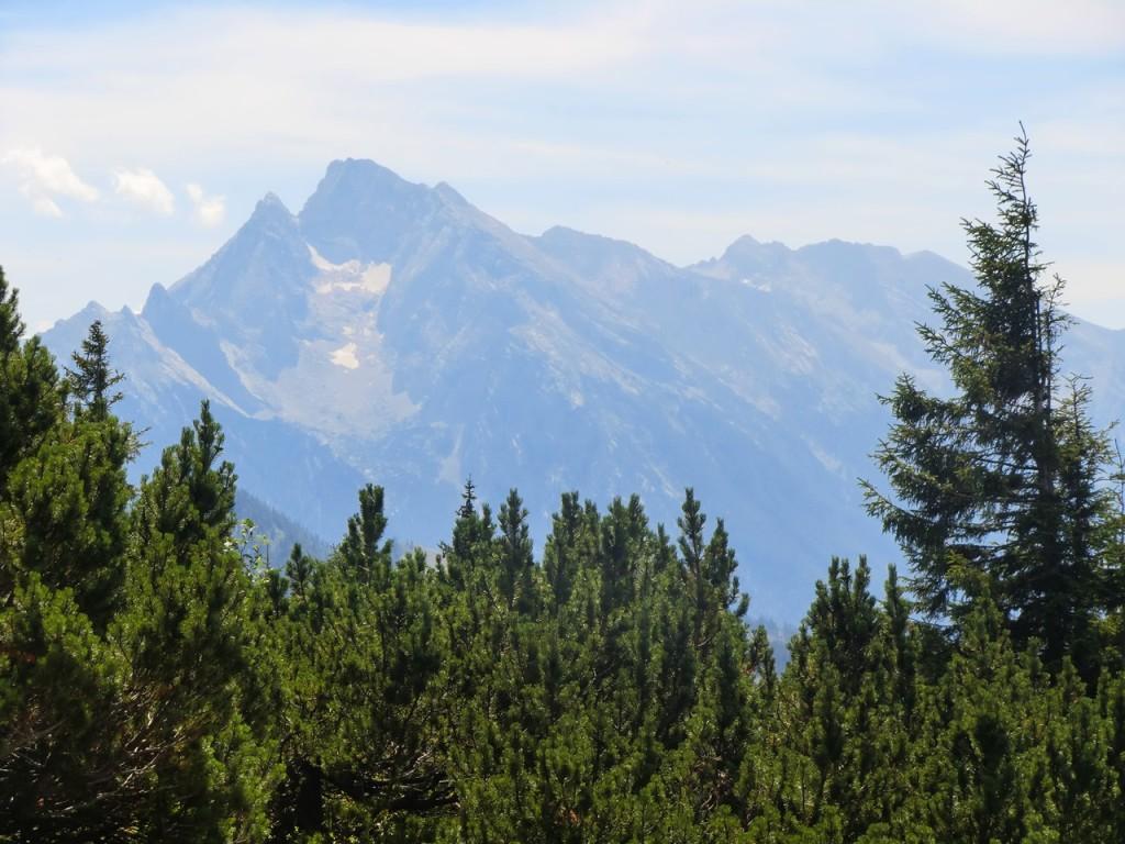 Blick zum Blaueisgletscher