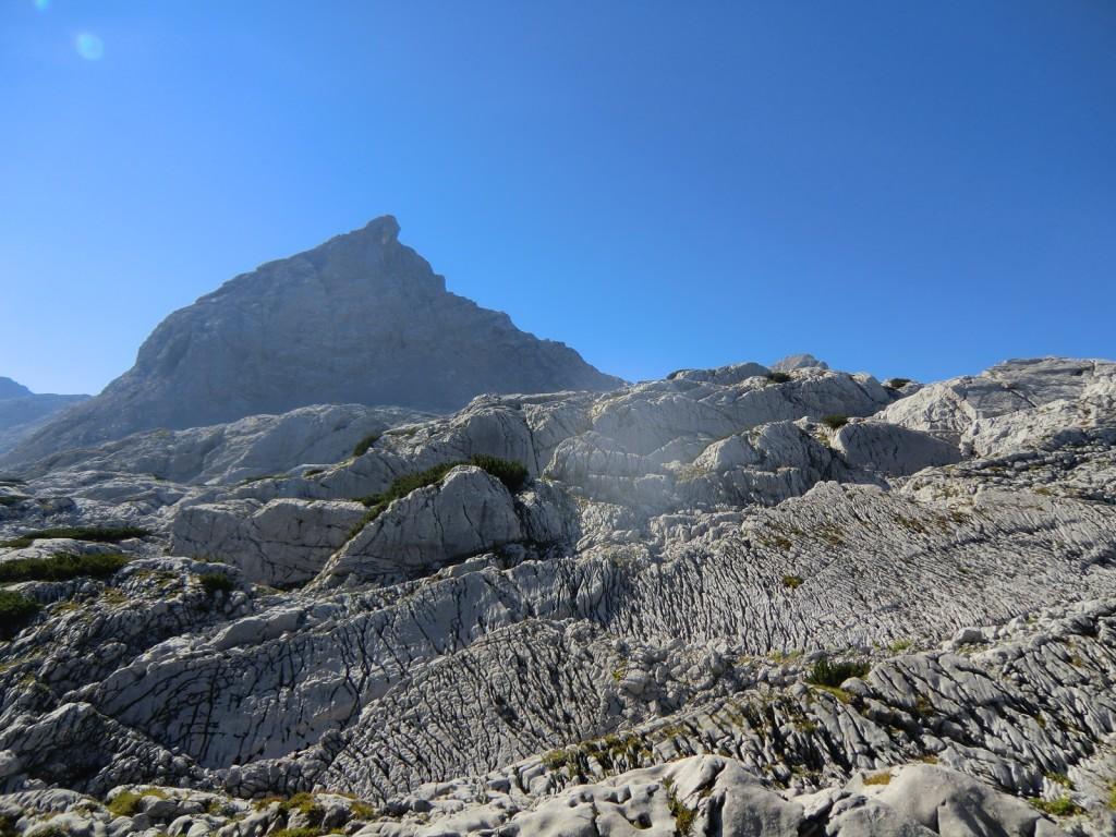die Schönfeldspitze zum greifen nah