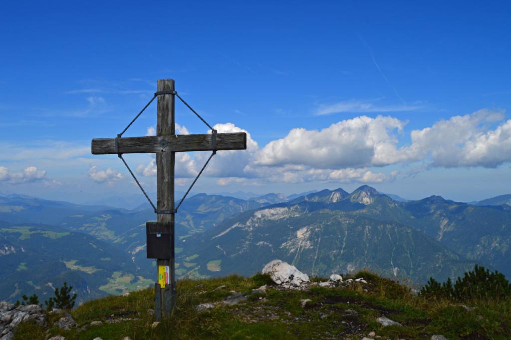 Gipfelkreuz Weitschartenkopf