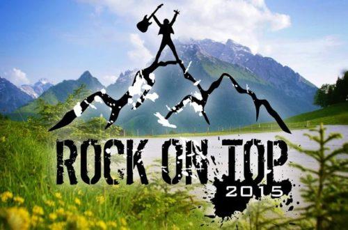 RockOnTop am Hochschwarzeck in Ramsau