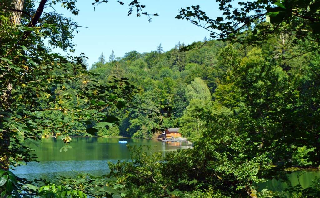 Das Seebad am Höglwörter See