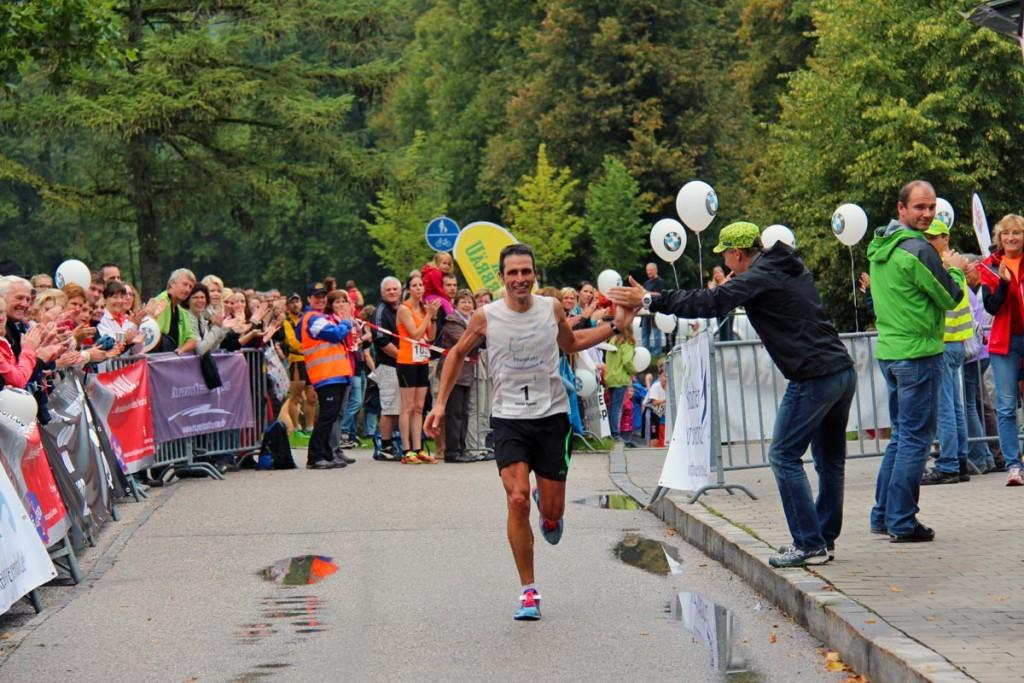 Titelverteidiger: Der Bad Reichenhaller Ex-Triathlonprofi Stefan Holzner