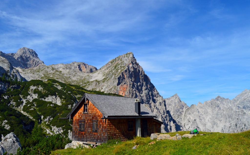 Diensthütte am Trischübel