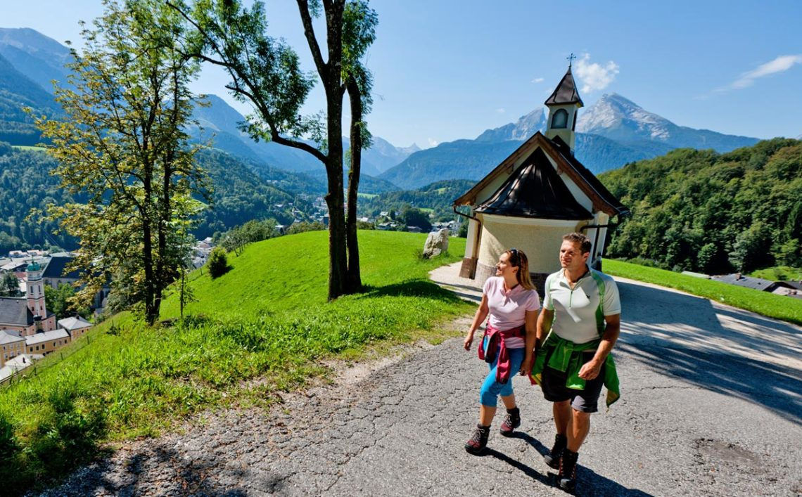 An der Kirchleitn-Kapelle Berchtesgaden